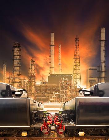 industria petroquimica: trenes y ferrocarriles industriales contra petroqu�mica pesada uso de la industria de los carriles de la tierra log�stica y masa negocio de transporte