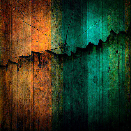 abstract of wood breaking wall background use for multipurpose backdrop and colorful texture wooden