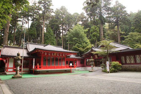 destination scenic: hagone shrine scenic important traveling destination to visit in japan