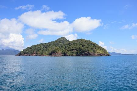 abandon: abandon island and natural blue sea