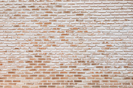 backdrop grungy: big old brick wall pattern use as construction background,floor and grungy backdrop Stock Photo
