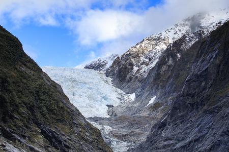 franz: franz joseft glacier important traveling destination in south island new zealand
