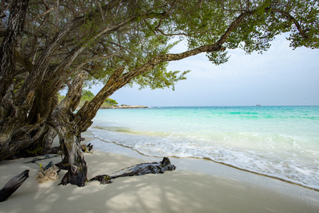 thailand beach: beautiful beach of Ao Wai Koh Samed sea national park in Rayong Province eastern of Thailand Stock Photo