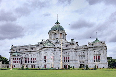 history building: Anantasamakhom Throne Hall most famous european history building in bangkok thailand