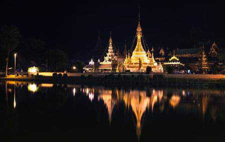 wat chong kum mae hong sorn province northern of thailand most popular traveling destination