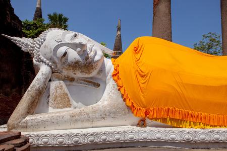 ワット ヤイ chaimongkol アユタヤ世界遺産ユネスコの仏像