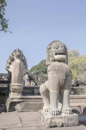 phimai historical national park in nakorn ratchasima north eastern of thailand Stok Fotoğraf