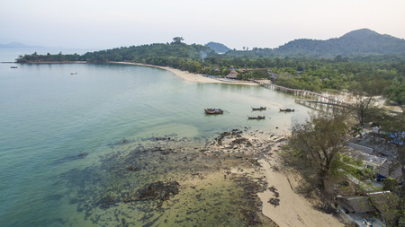 high angle view of koh payam island most popular natural traveling destination in andaman sea southern of thailand