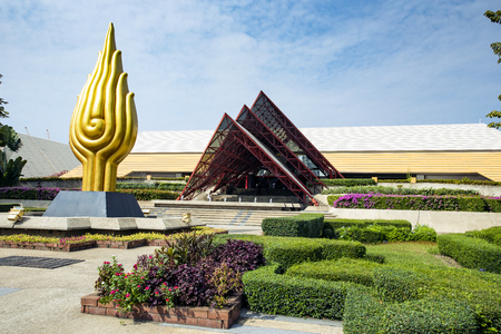 bangkok thailand - february3,2019 : Queen Sirikit National Convention Center in heart of bangkok thailand capital