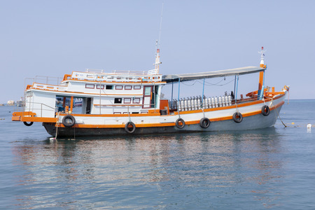 scuba diving tour boat in thailand