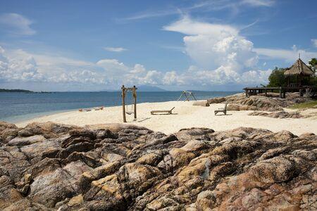 beautiful tropical summer beach in thailand