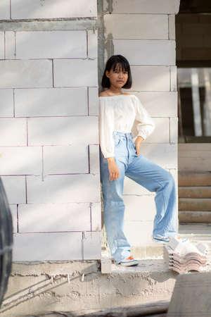 street fashion of asian teeanger