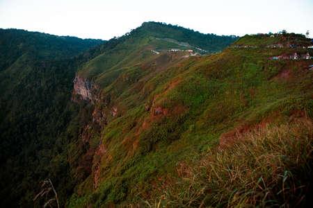 high mountain clif in phu tubberk thailand 版權商用圖片