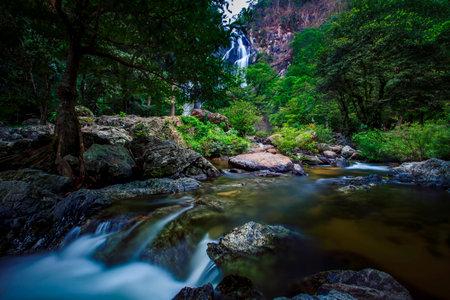 klong lan waterfall national park northern of thailand