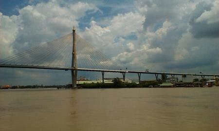 bhumibol: View of Bhumibol bridge