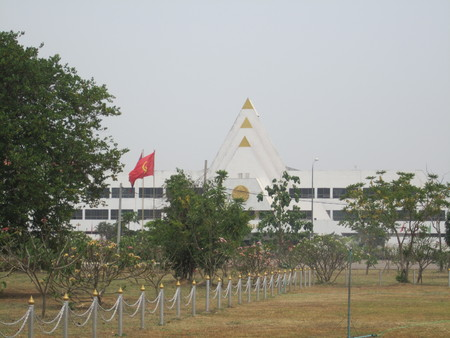polity: A view of Laos National Assembly