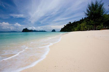 wavelet: The beautiful island in andaman sea, thailand Stock Photo