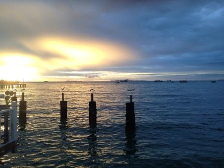 sea and sun 스톡 콘텐츠