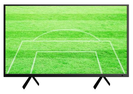 wallpape: TV screen on white background