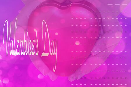 Happy valentine day card Banque d'images