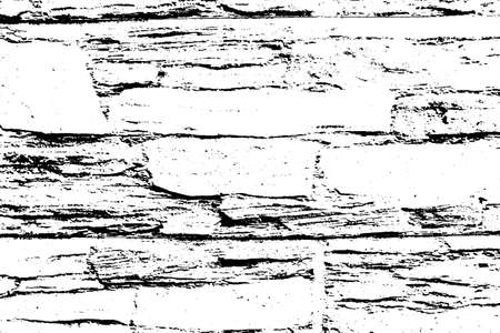 Grunge Vector Texture. Black and White Urban Pattern. 向量圖像