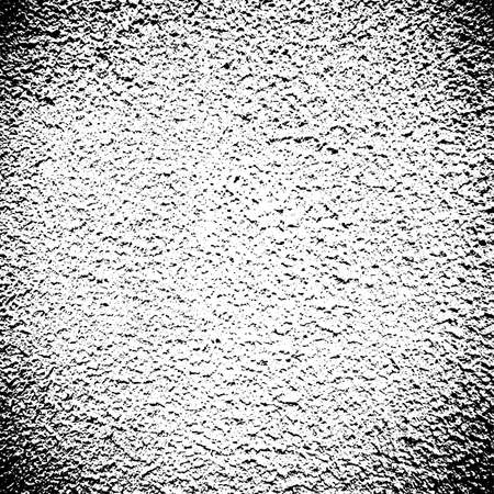 Vector grunge seamless texture. Abstract black and white stone wall background.
