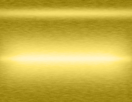 brushed steel: Gold metal brushed background or texture of brushed steel plate with reflections Iron plate and shiny