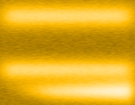 aluminium: Gold metal brushed background or texture of brushed steel plate with reflections Iron plate and shiny