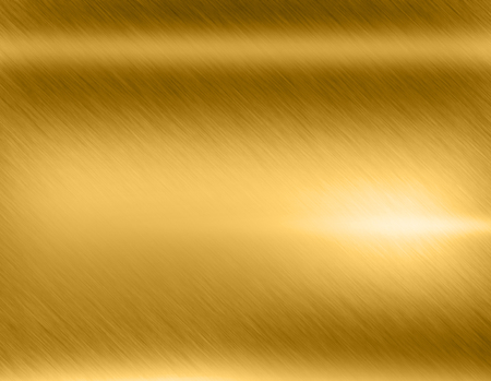 metal textures: Gold metal brushed background or texture of brushed steel plate with reflections Iron plate and shiny