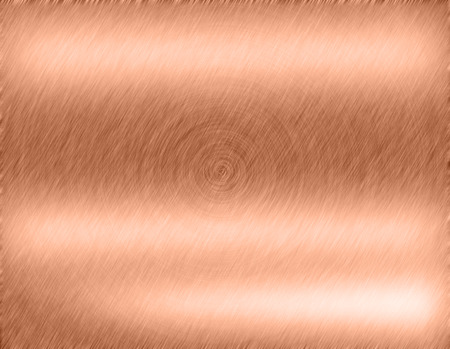 alloy: Copper bronze metal background or texture of brushed steel plate with reflections Iron plate and shiny Stock Photo