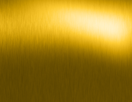 revolve: Gold metal brushed background or texture of brushed steel plate with reflections Iron plate and shiny