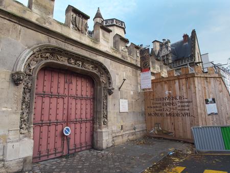 edad media: museo de Cluny o el Museo Nacional de la Edad Media