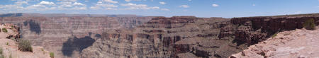 Panorama view of Grand Canyon