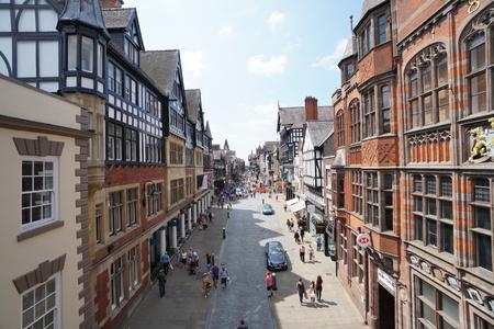 chester: Eastgate Street, Chester