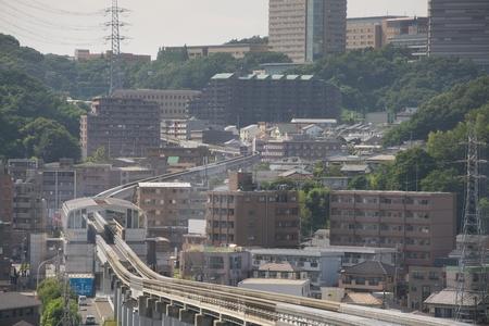 View of Tama hills, Tama Kyuryo, Tokyo