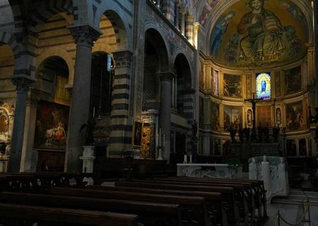 Pisa, Italy-July 26, 2018: Pisa Cathedral or Cattedrale Metropolitana Primaziale di Santa Maria Assunta, Pisa Editöryel