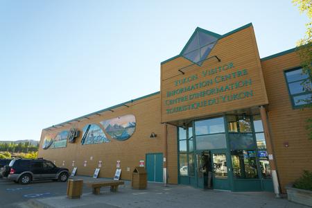 Whitehorse, Canada-September 10, 2018: Yukon Visitor Information Centre