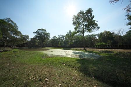 Siem Reap, Cambodia-Januay 11, 2019: Baphuon in Angkor Thom, Siem Reap