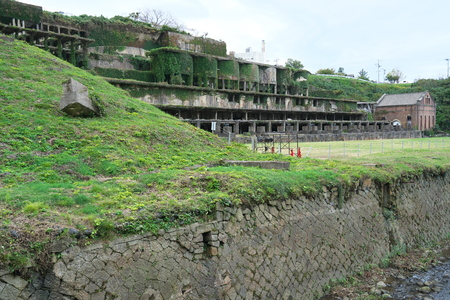 Niigata,Japan-October 22, 2019: Kitazawa Flotation Plant at Sado Gold Mine in Sado Island 報道画像