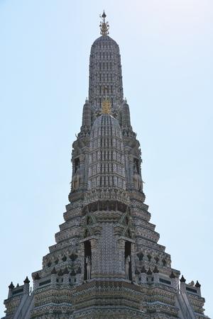 Bangkok,Thailand-December 6, 2019: Wat Arun in Bangkok, Thailand 報道画像
