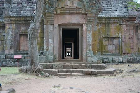 Buriram,Thailand-December 8, 2019: Shiva Lingam in Phanom Rung, Buriram's Khmer temple on volcano, in Thailand 写真素材 - 136063792