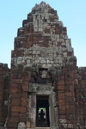 Nakhon Ratchasima,Thailand-December 8, 2019: Buddha Statue or Image at Phaimai Historical Park in Buriram, Thailand 写真素材 - 136312036