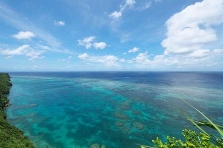 View from triangulation station in Irabu island, Okinawa