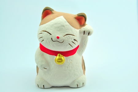 Maneki Neko  Japanese Welcoming Cat, Lucky Cat, Cat Swipe, Money cat, or Fortune Cat