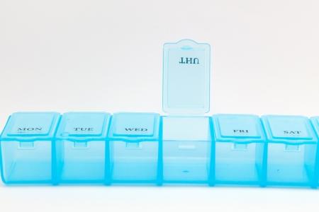 Geschlossen t�glich pill box Show Medizin Ausr�stung