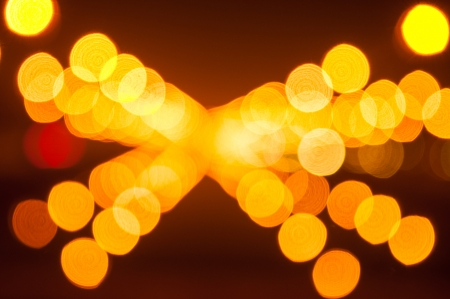 thanon: Abstract Bokeh background from light at Thanon Utthayan road in Thailand