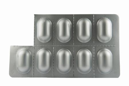 Eine Tablette aus Blisterverpackung Show Einheit Dosis, um den Patienten