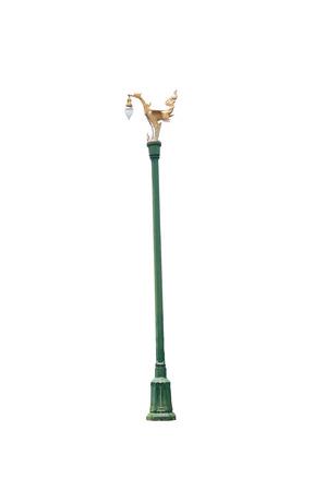 thanon: Pole of lamp in Thanon Utthayan road