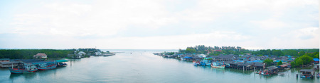 rayong: Panorama of Prasea river relate in Rayong province thailand