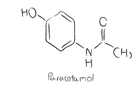 paracetamol: Paracetamol chemical structure